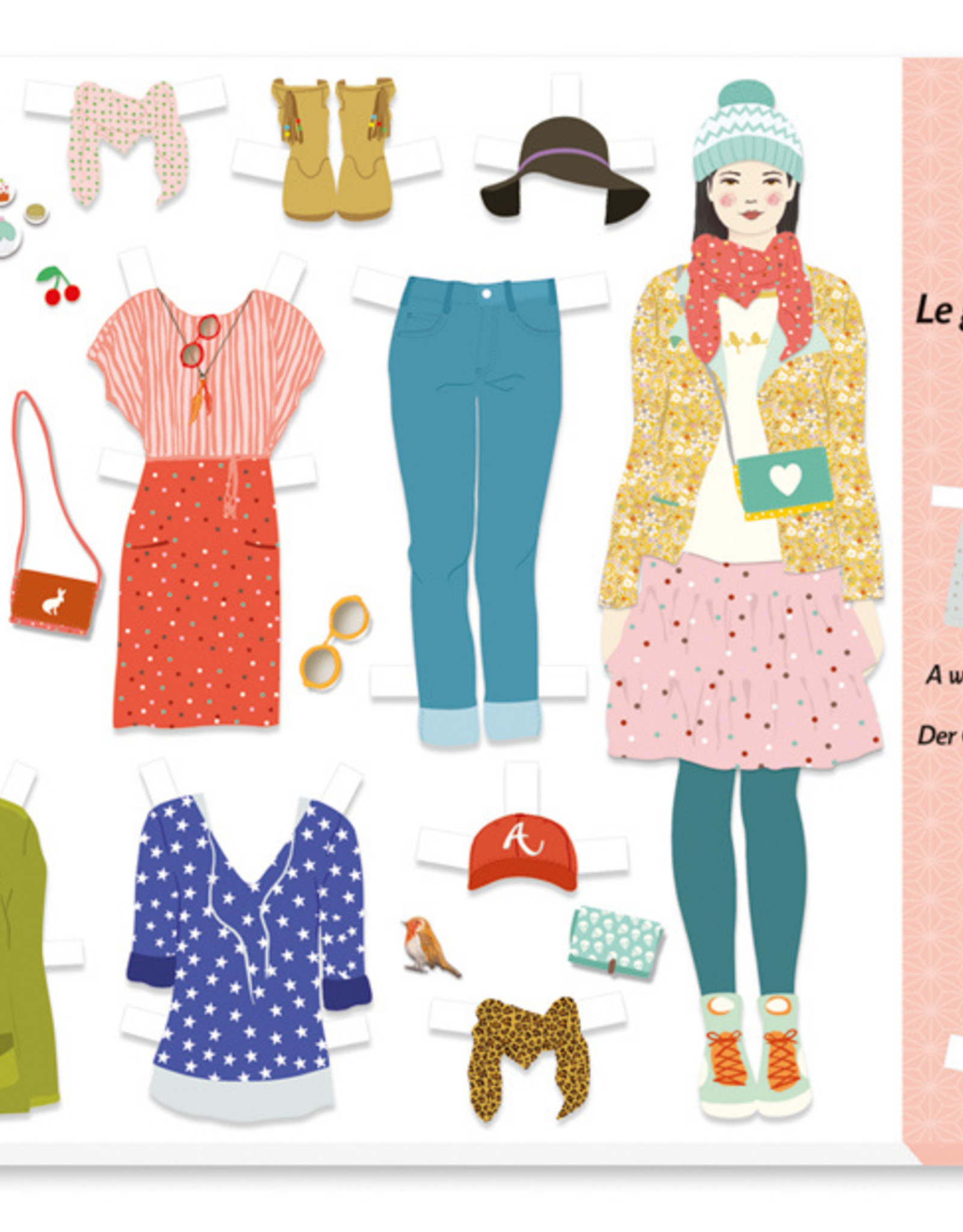 Djeco Djeco - Le Grand Dressing Paper Doll