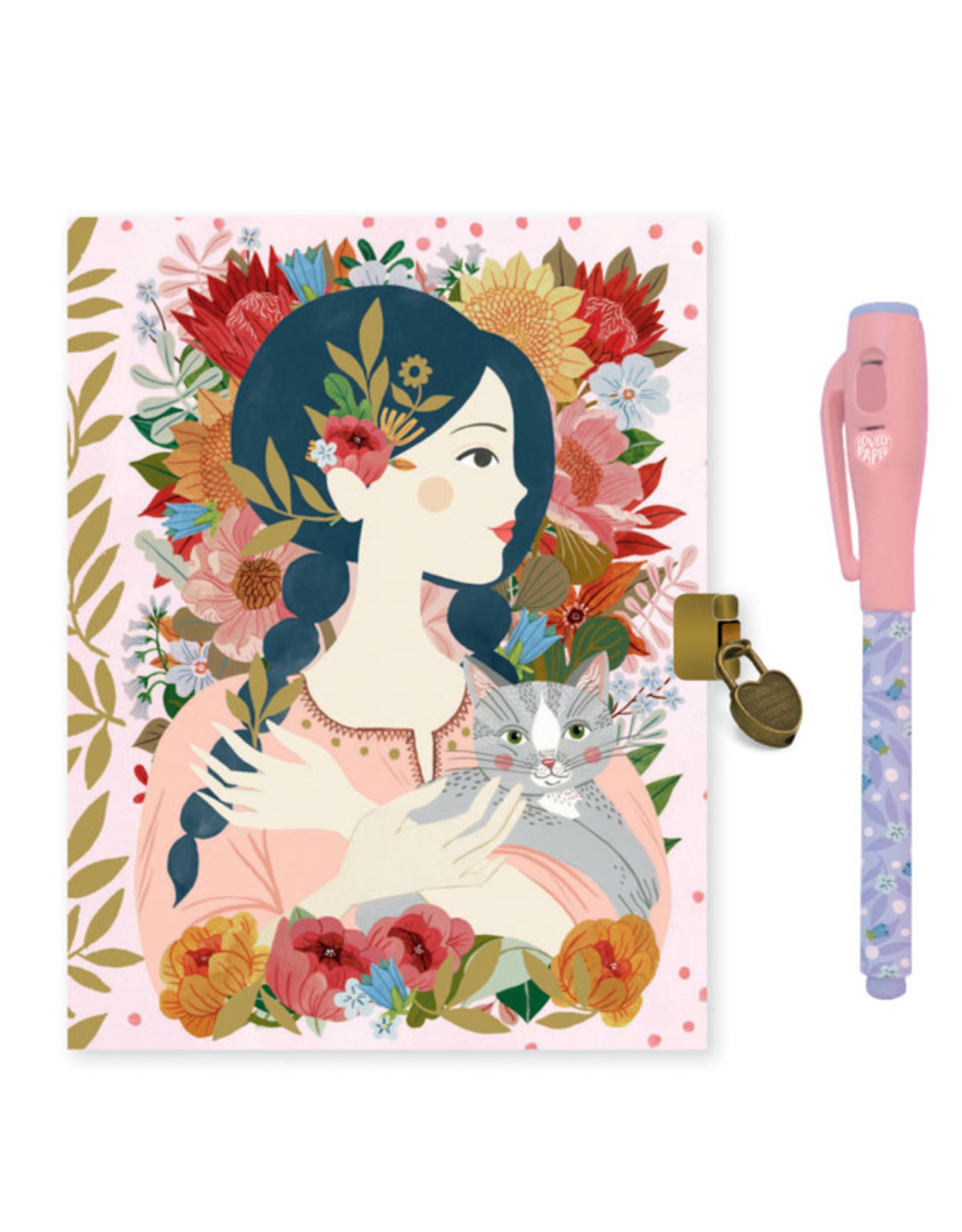 Djeco Djeco - Secret Notebook Oana