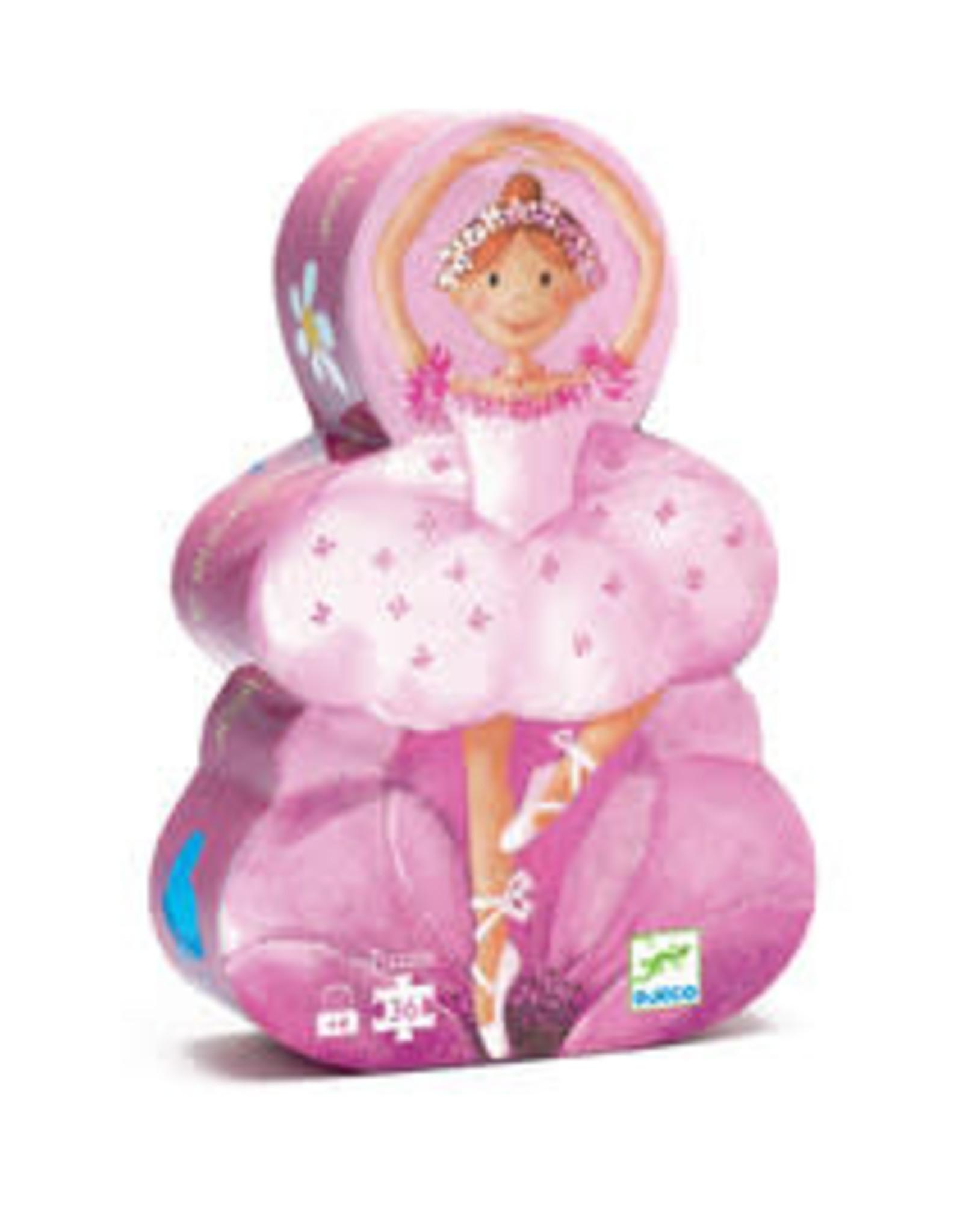 Djeco Djeco - Ballerina Puzzle 36pce