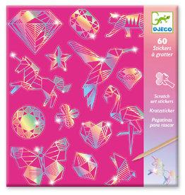 Djeco Djeco - Scratch Art Diamond