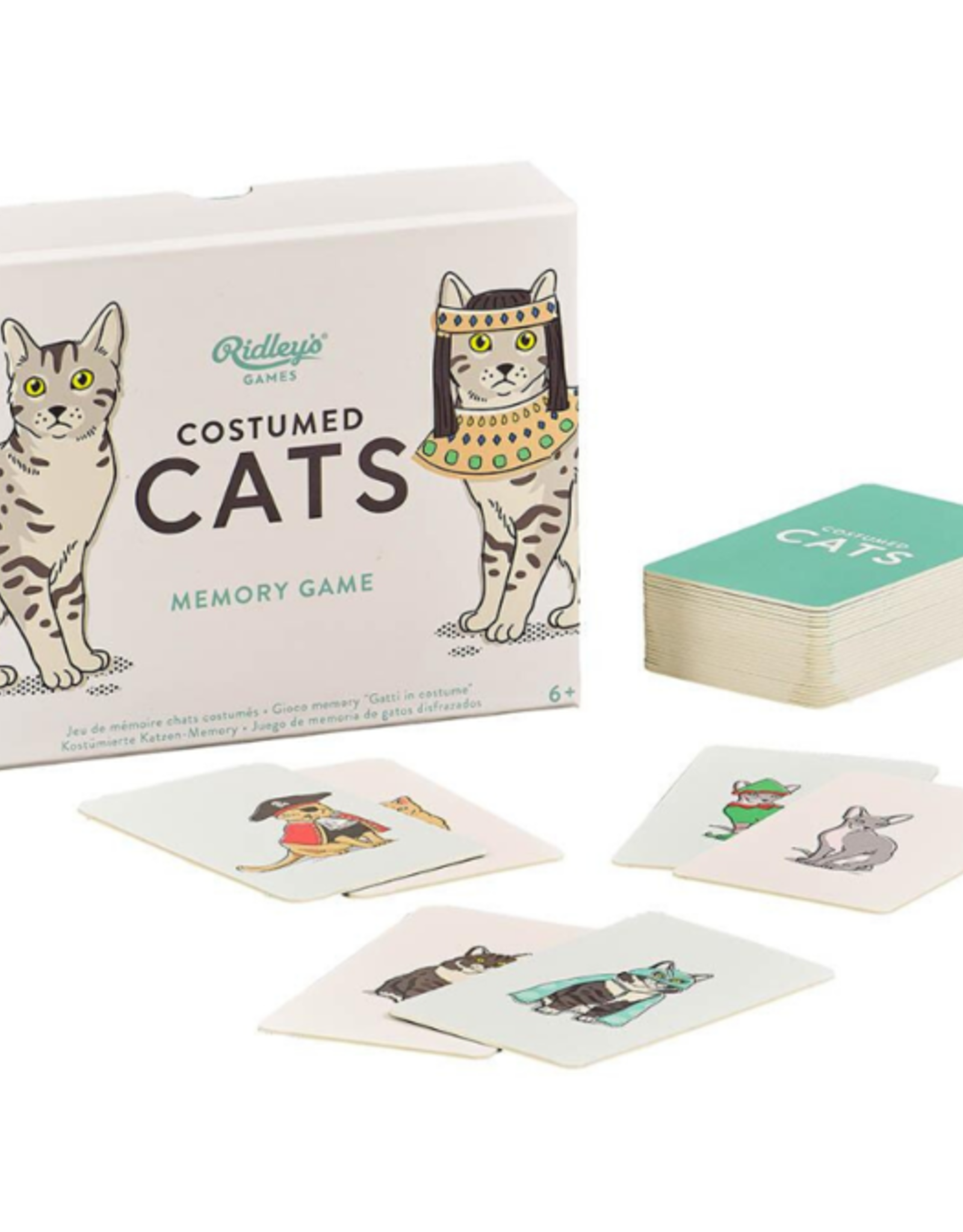 Ridleys -Costumed Cats Memory Game
