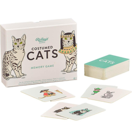 Costumed Cats Memory Game