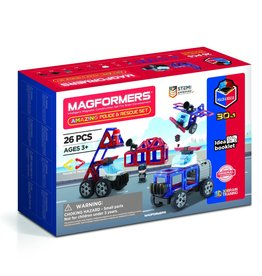 Magformers - Amazing Police And Rescue Set