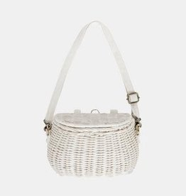 Olli Ella Olli Ella - Mini Chari Bag White