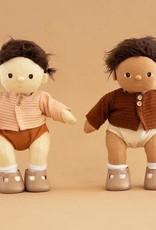 Olli Ella Olli Ella - Dinkum Doll Cardigan Chestnut