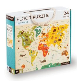 Petit Collage Petit Collage - Our World Floor Puzzle 24pce
