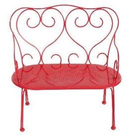 Maileg Maileg - Red Bench Chair
