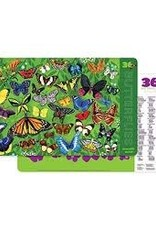 Crocodile Creek Crocodile Creek - Butterflies Puzzle 100 pc