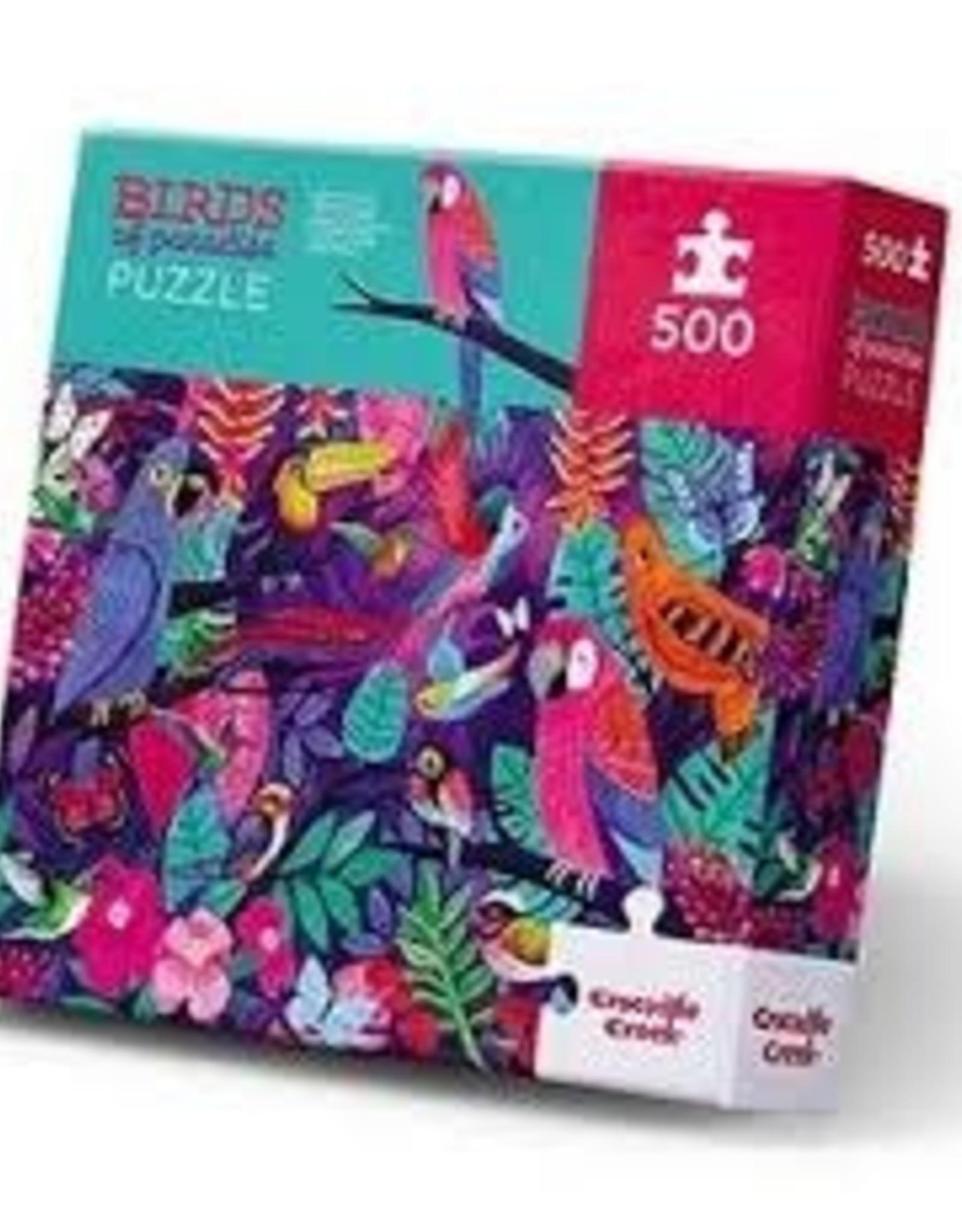 Crocodile Creek Crocodile Creek - Birds of Paradice Puzzle 500 pc
