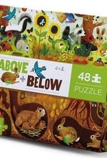 Crocodile Creek Crocodile Creek - Backyard Above & Below Puzzle 48 pc