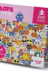 Crocodile Creek Crocodile Creek - Lots Of Cats Puzzle 500 pce