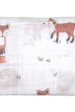 Mister Fly Mister Fox Muslin Wrap - Fox