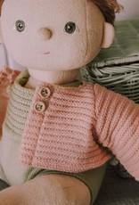 Olli Ella Olli Ella - Dinkum Doll Cardigan Rose