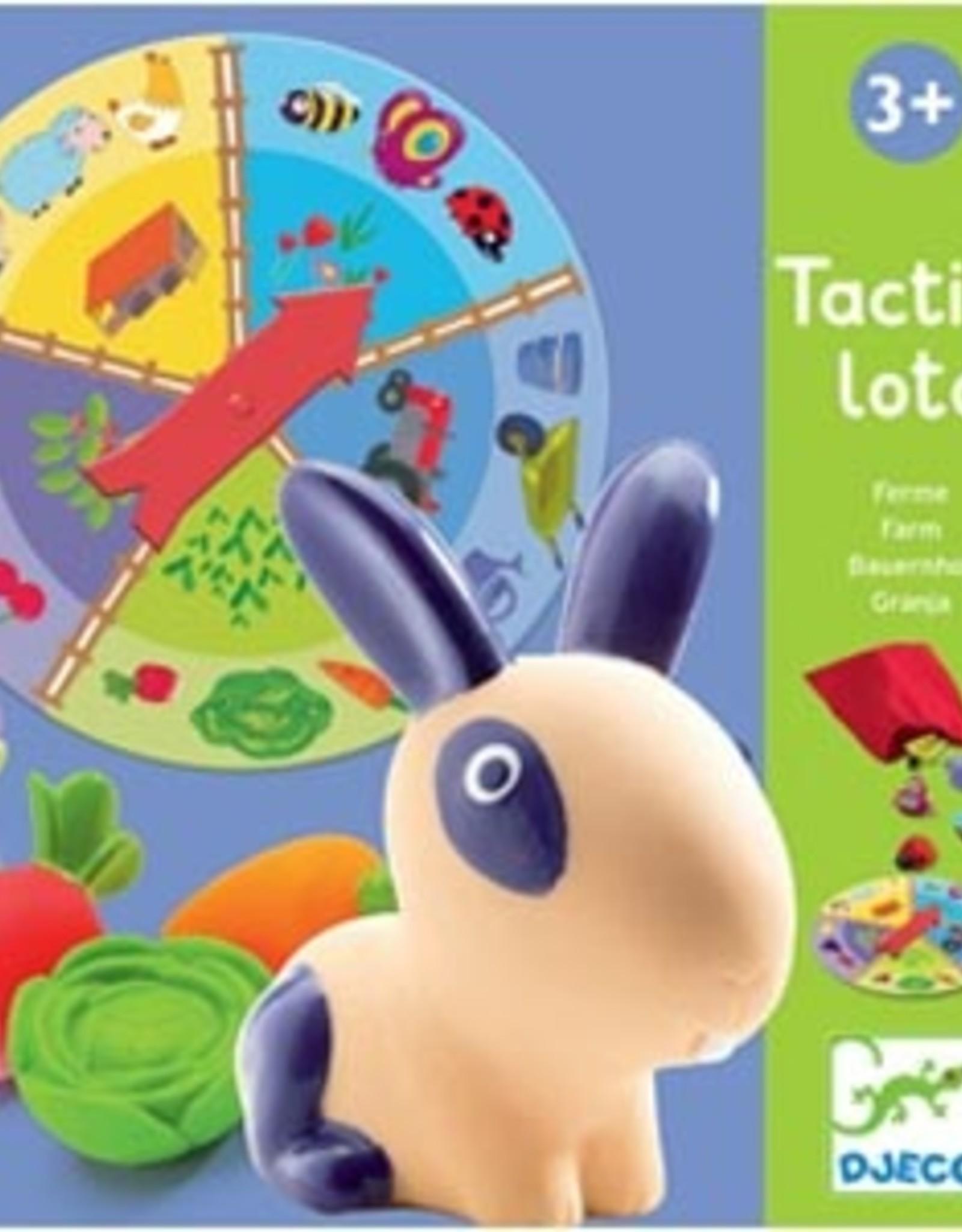 Djeco Djeco - Tactile Lotto Farm Game