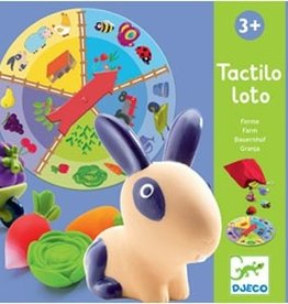 Djeco Djeco - Tactile Lotto Farm Game