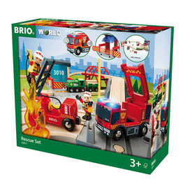 Brio BRIO - Fire Rescue Set Deluxe