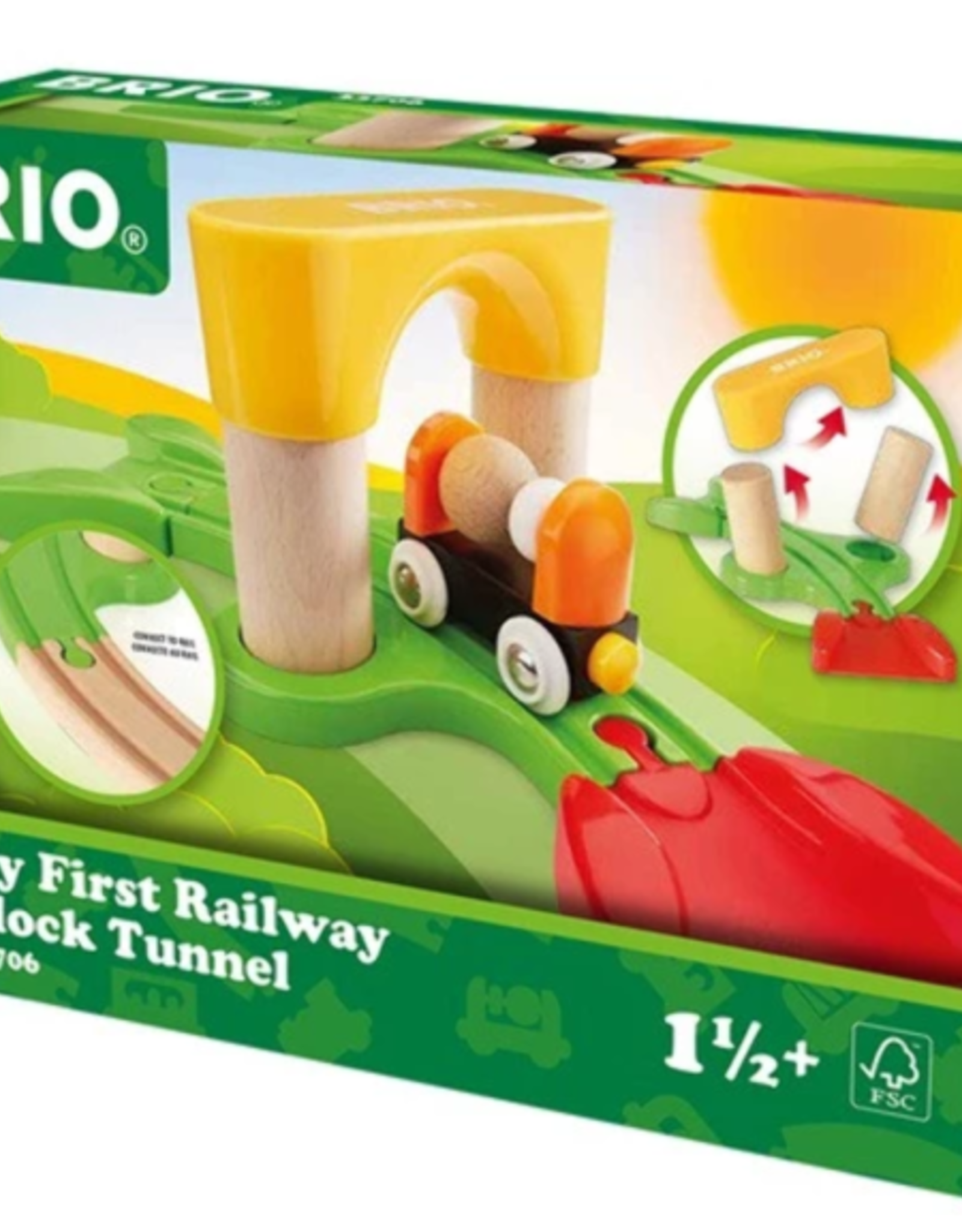 Brio BRIO - My First Railway Block Tunnel