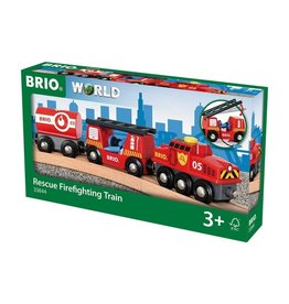 Brio BRIO - Rescue Firefighting Train