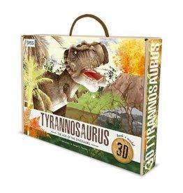 Sassi Tyrannosaurus Book And 3D Model