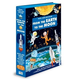 Sassi From The Earth To The Moon - 200 Pc Puzzle And Book