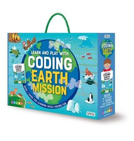Sassi Coding Earth Mission Book And Game