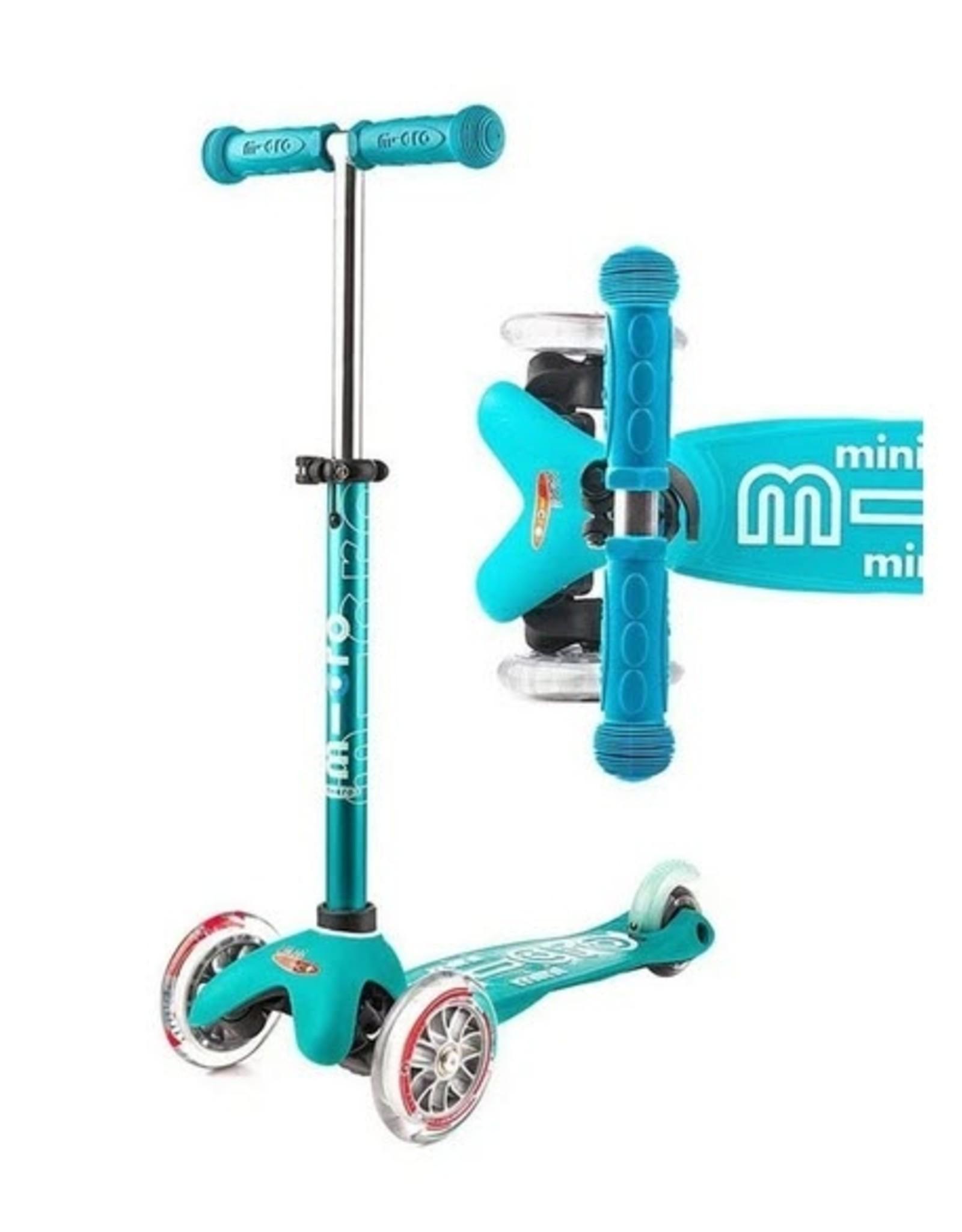 Micro Scooter Mini Micro Deluxe Scooter - Aqua