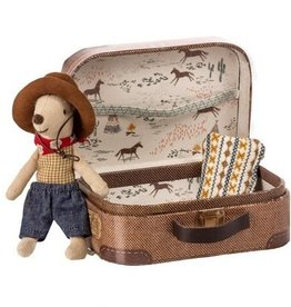 Maileg Maileg - Cowboy Mouse In Suitcase