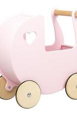 Moover Moover Dolls Pram Light Pink Large