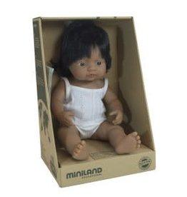 Miniland Miniland Baby Doll 38cm - Latin Girl