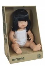 Miniland Miniland Baby Doll Girl - Asian 38cm