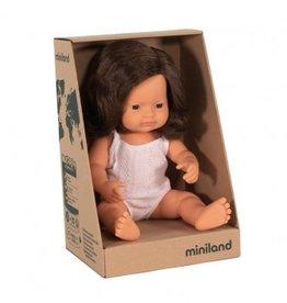 Miniland Miniland Doll - New Girl Brunette Pre Order Mid June
