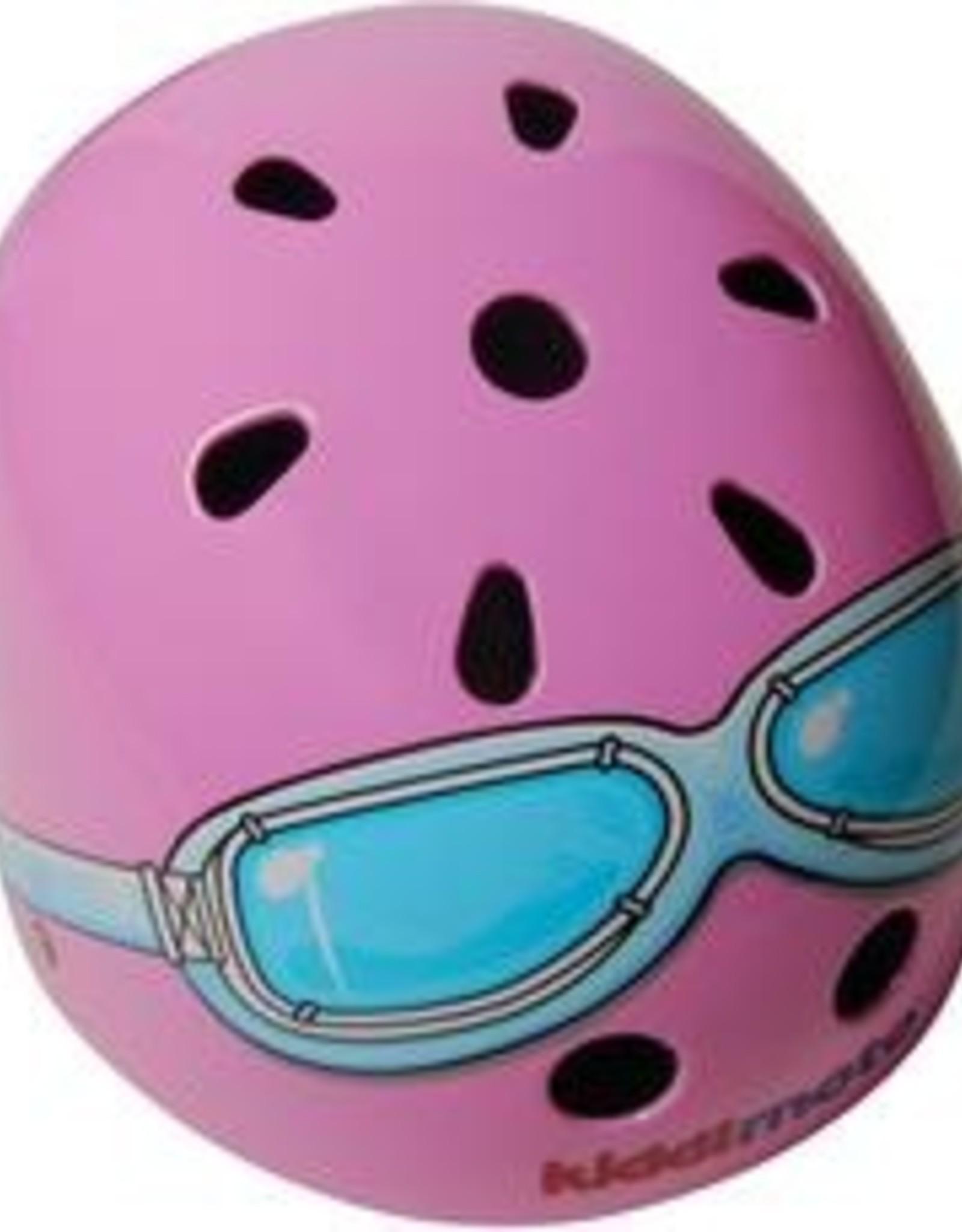 Kiddimoto Helmet Kiddimoto Helmet - Pink Goggles Medium