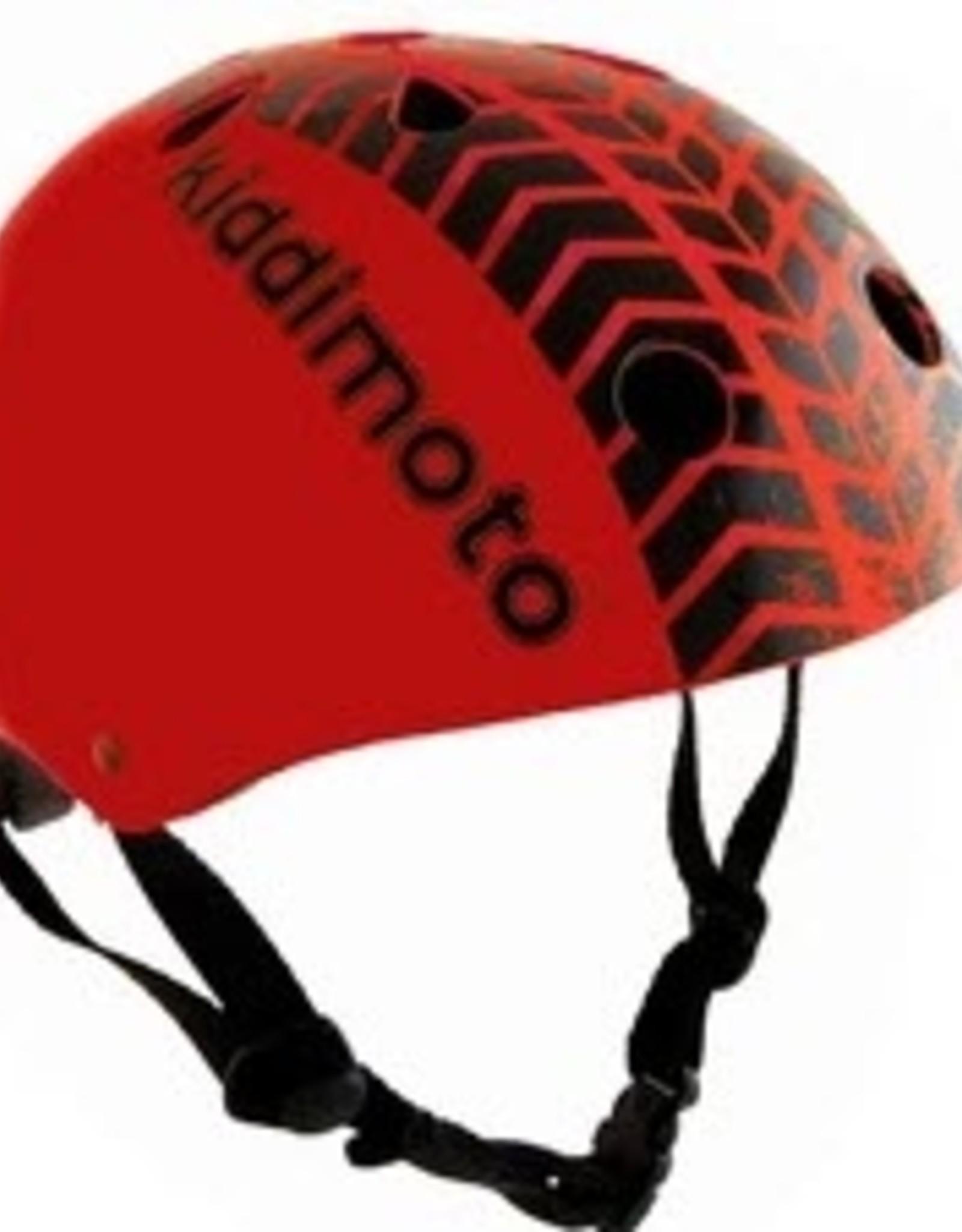 Kiddimoto Helmet Kiddimoto Helmet - Red Tyre Medium
