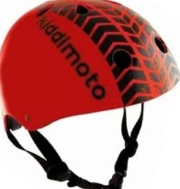 Kiddimoto Helmet Kiddimoto Helmet - Red Tyre Medium