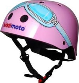 Kiddimoto Helmet Kiddimoto Helmet - Pink Goggles Small