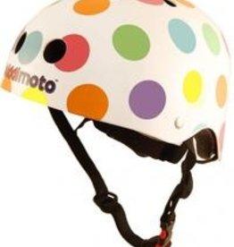 Kiddimoto Helmet Kiddimoto Helmet - Pastel Spotty Medium