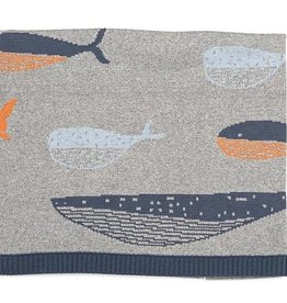 Indus Design Indus - William Whale Blanket