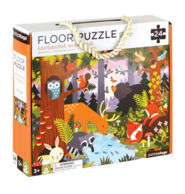 Petit Collage Petit Collage - Enchanted Woodland Floor Puzzle 24pce