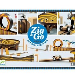 Djeco Djeco - Zig & Go Action Reaction 45pce