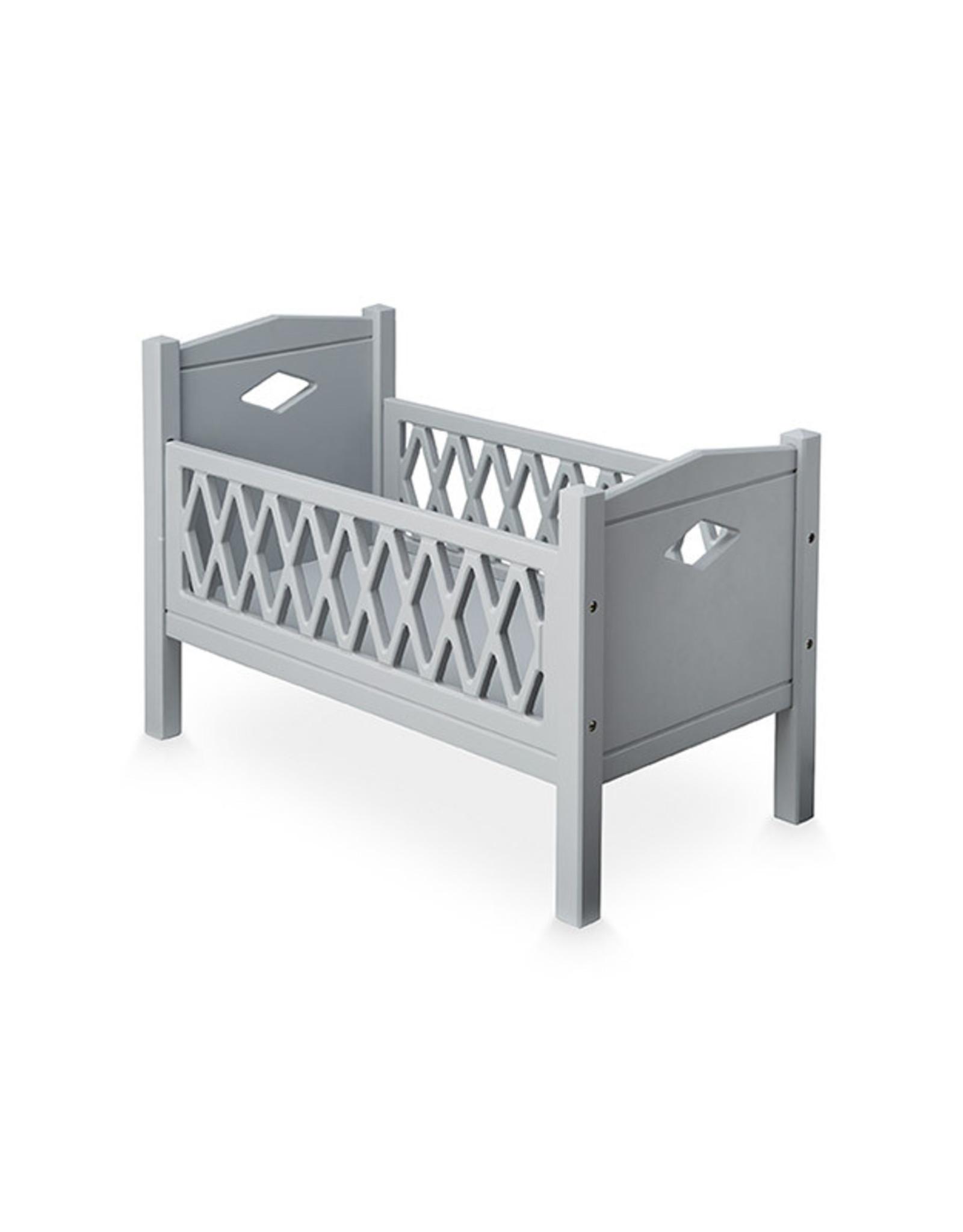Cam Cam Cam Cam - Harlequin Doll's Bed Grey