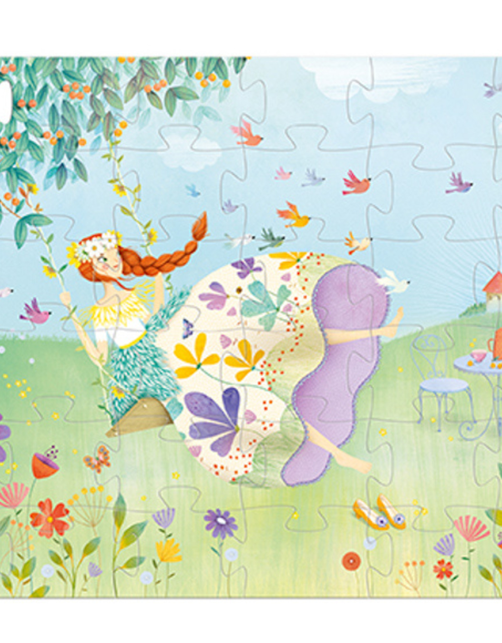 Djeco Djeco - The Princess Of Spring Puzzle 36 pce