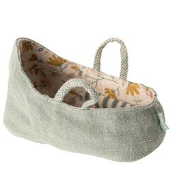 Maileg Maileg - Carry Cot Dusty Green