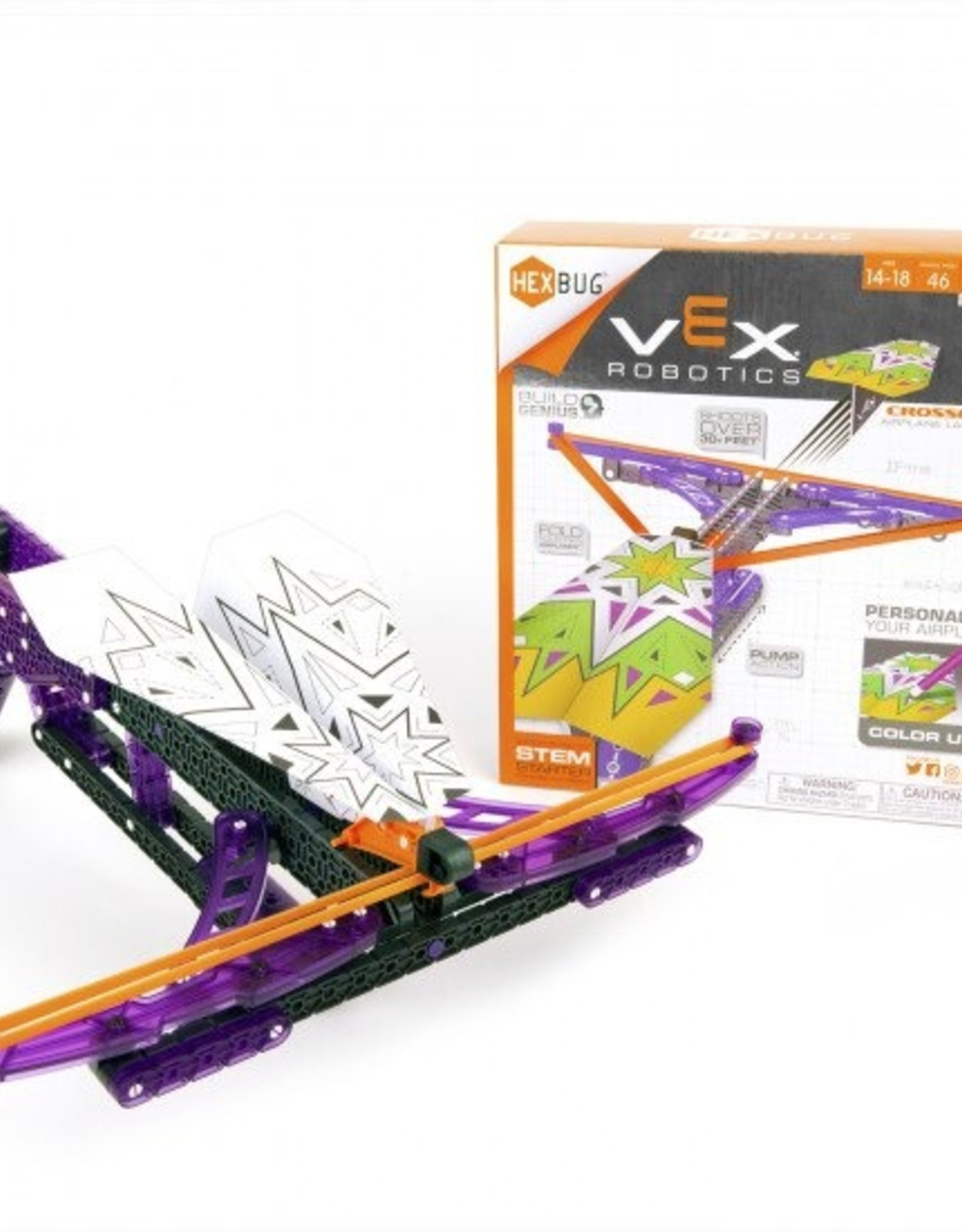 Hex Vex  - Crossfire Airplane Launcher