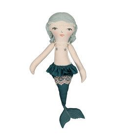 Burrow & Be Burrow & Be - Ava Mermaid Doll Teal