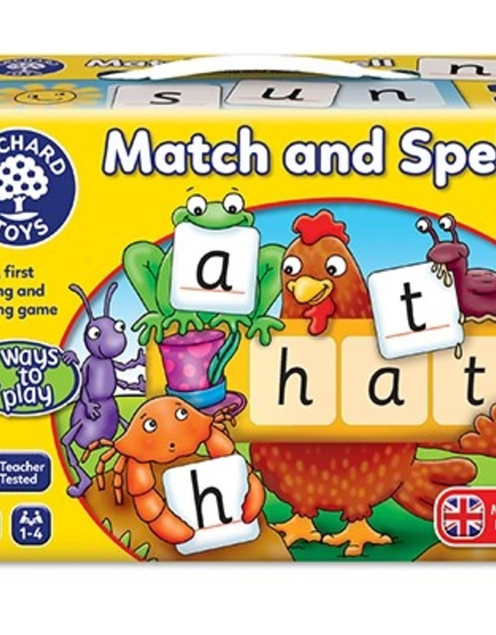 Orchard Toys Orchard Toys - Match and Spell