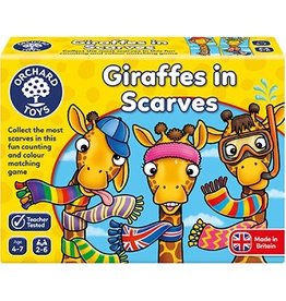 Orchard Toys Orchard Toys - Giraffes In Scarves Game