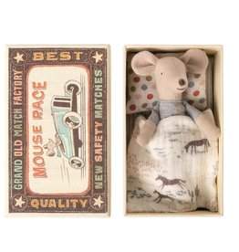 Maileg Maileg - Little Brother Mouse In Box (New)