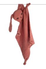 Burrow & Be Burrow & Be - Muslin Bunny Comforter Clay