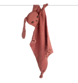 Burrow & Be Burrow & Be - Muslin Bunny Comforter Clay