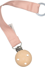 Burrow & Be Burrow & Be - Pacifier Clip Dusty Rose